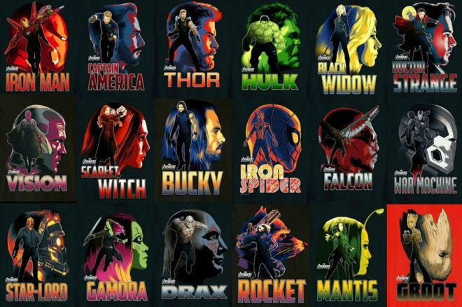 Plakáty Avengers: Infinity War