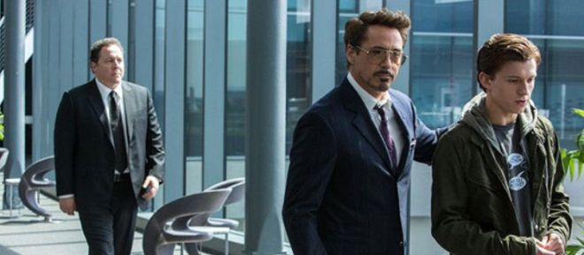 Spider-Man a Tony Stark