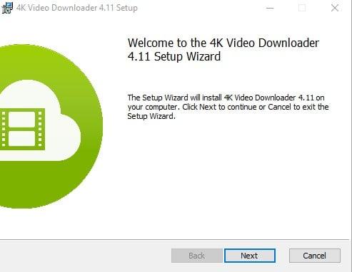 instalace 4k video downloader