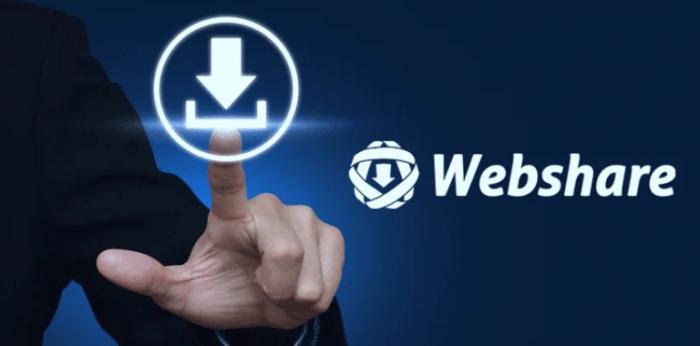 Webshare CZ stahování