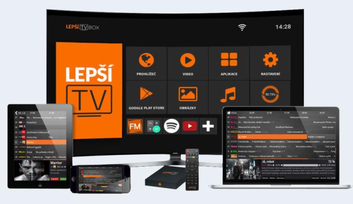 Lepší TV recenze internetové televize