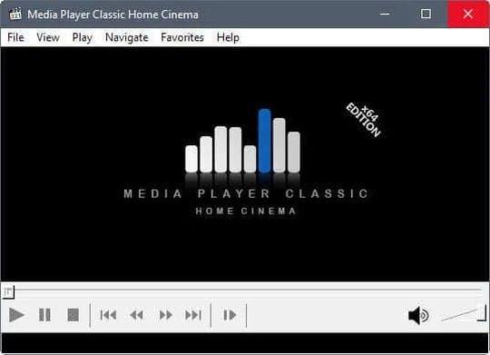 Media Player Classic obrázek