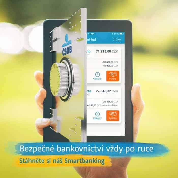 Intrnetové bankovnictví ČSOB