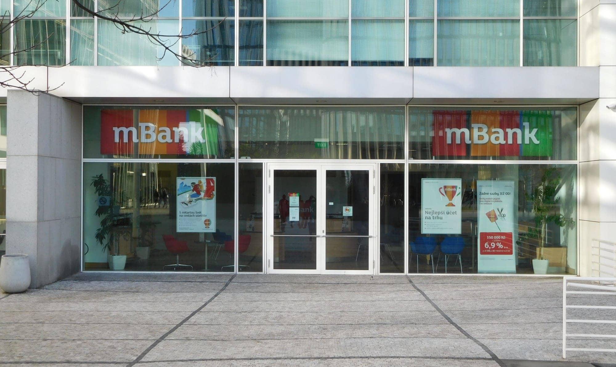 mbank prihlaseni do internetoveho bankovnictvi